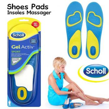Scholl Active Work Gel Massage Insoles for Men / W
